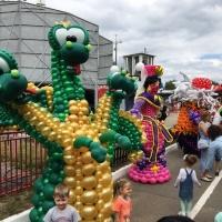 Прошел первый фестиваль воздушных шаров в Казани 22 июля 2018 в парке Кырлай